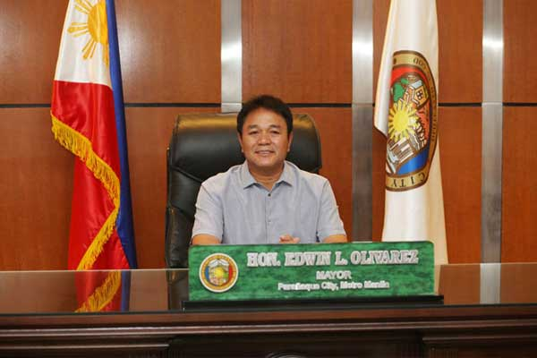 Paranaque City Mayor Edwin Olivarez