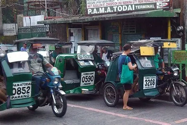 Tricycle Terminal in Marikina / Photo Courtesy of xicowner.jefmart.com