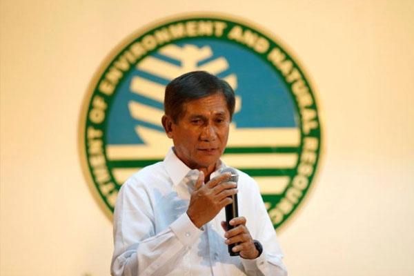 Environment Sec. Roy Cimatu. / Reuters