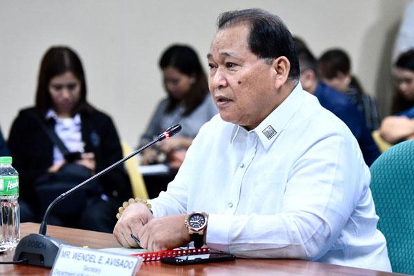 Department of Budget and Management (DBM) Secretary Wendel Avisado / Photo Courtesy of Rappler