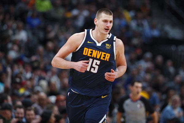 Denver Nuggets All-Star center Nikola Jokic / Photo Courtesy of AP Photo/David Zalubowski