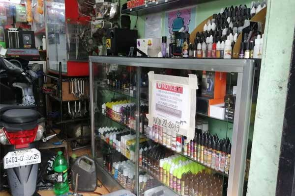 Taguig vape shops closed / PIO Taguig