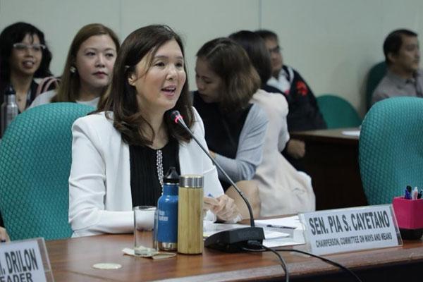 Senator Pia Cayetano / Facebook