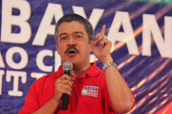 Bayan Muna party-list Representative Carlos Zarate / Panaynews