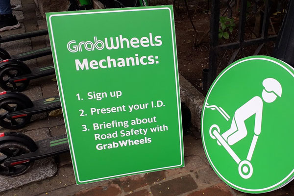 GrabWheels in Intramuros / PIA