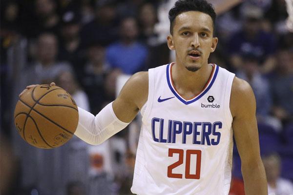 Los Angeles Clippers point guard Landry Shamet / AP Photo/Ross D. Franklin
