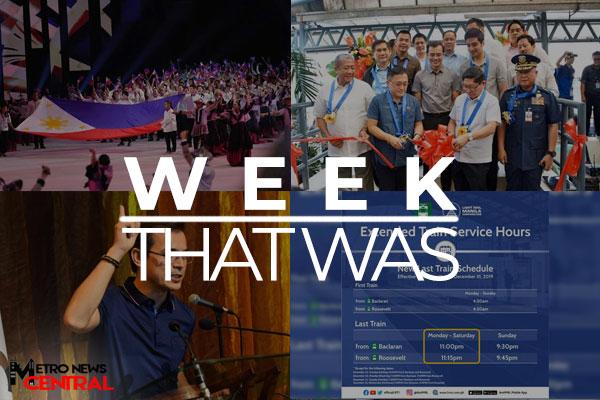 The Week That Was - December 9 - December 15, 2019 Banner