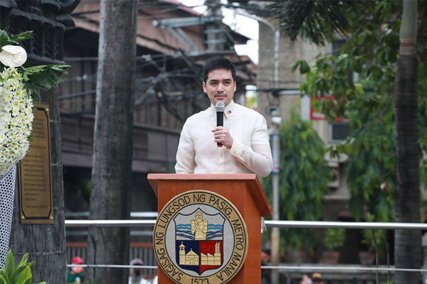 Pasig City Mayor Vico Sotto / Pasig PIO