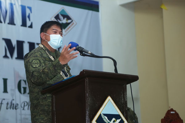 Armed Forces of the Philippines (AFP) chief-of-staff Gen. Gilbert Gapay / PNA / AFP PAO