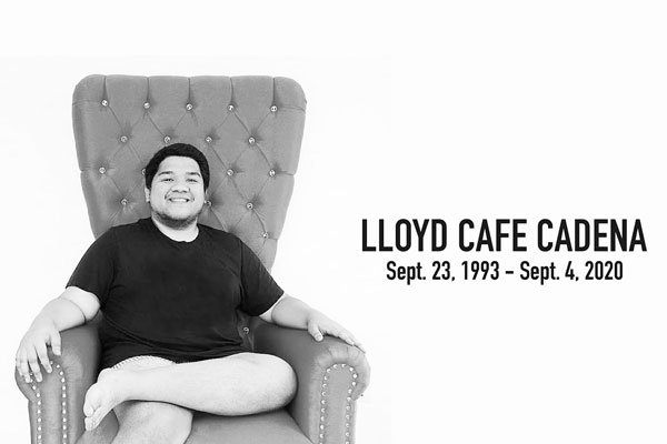 Screengrab from Lloyd Cafe Cadena VLOGS / YTD