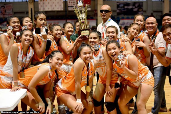 Caloocan Katipuneras, 2019 Metro League Under-17 Girls Volleyball champion