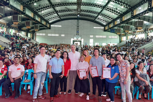 7th Youth Entrepreneurship Summit (YES) held by the City Government of Navotas