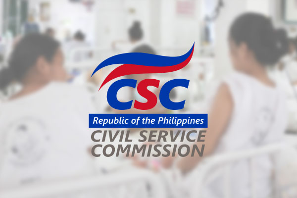 Civil Service Commission (CSC) / MNC Photo File