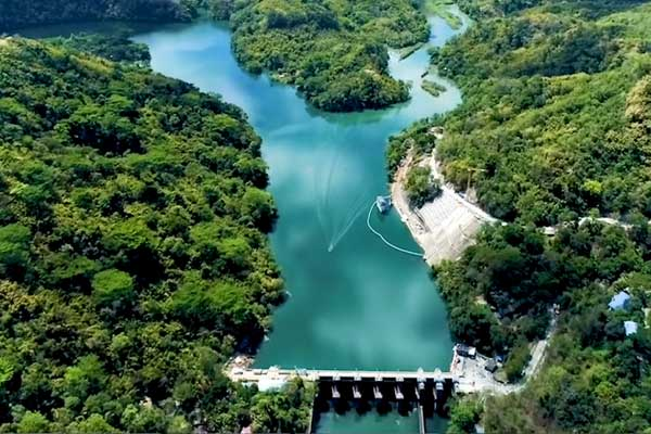 Angat Dam above operating level