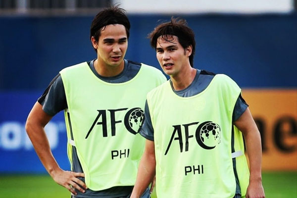 Both Younghusband brothers, James (L) and Phil have retired from football