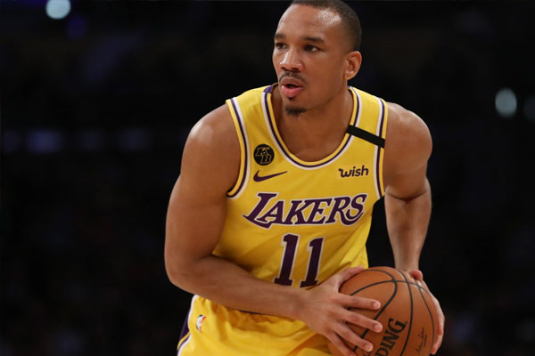 LA Lakers guard Avery Bradley / Photo Courtesy of Katelyn Mulcahy/Getty Images