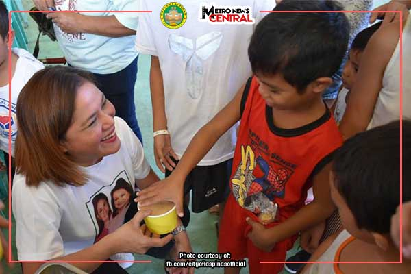 Feeding program for Las Piñas kids