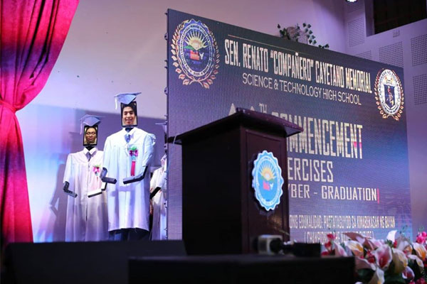 Cyber Graduation of Taguig City Senator Renato Cayetano Memorial Science and Technology High School / Taguig PIO