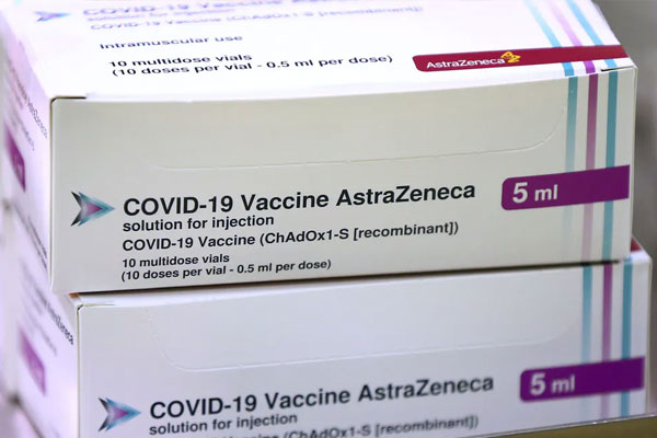 AstraZenica COVID-19 Vaccine / Photo Courtesy of theconversation.com
