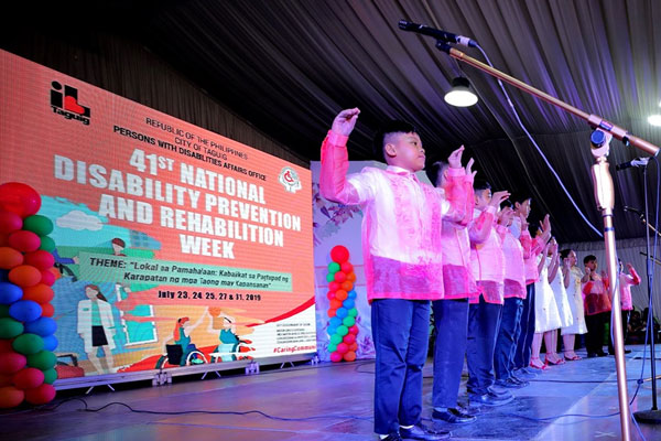 41st National Disability Prevention and Rehabilitation Week / Taguig PIO