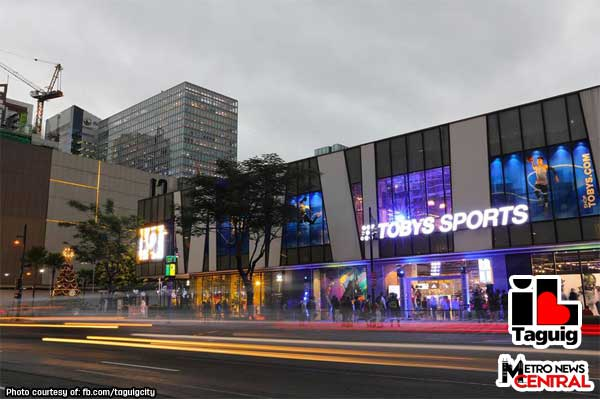 Newest Toby's Sports BGC flagship store