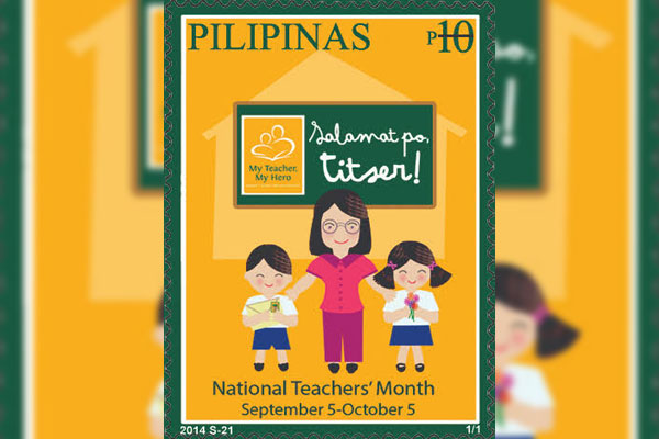 1th year of National Teachers Month PhilPost Stamp / PHLpost