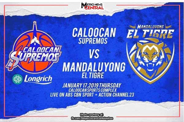 Caloocan Supremos vs Mandaluyong El Tigre