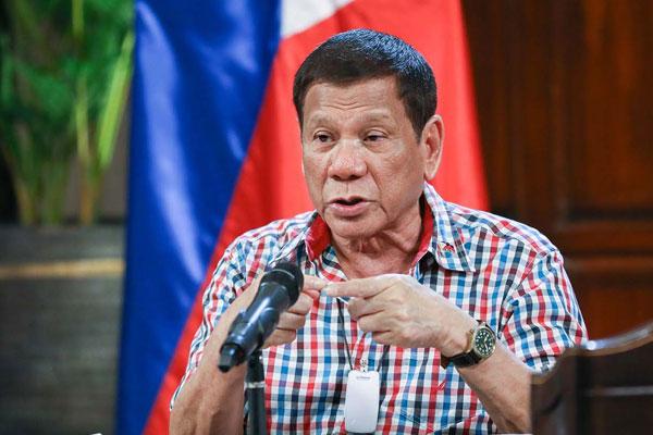 President Rodrigo Duterte / PCOO / Rainier Eubra
