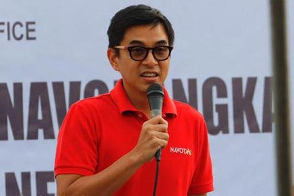 Navotas City Representative John Rey Tiangco