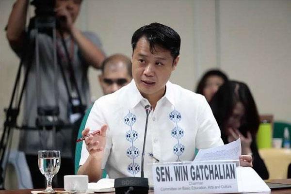 Senate Committee on Basic Education, Culture and Arts Sherwin Gatchalian