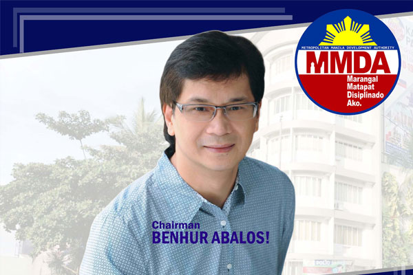 MMDA Chairman Benjamin Abalos Jr.