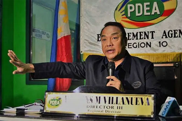 PDEA Director-General Wilkins Villanueva / Photo Courtesy of Diyaryo Milenyo News