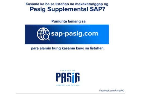 Photo Courtesy of Pasig PIO