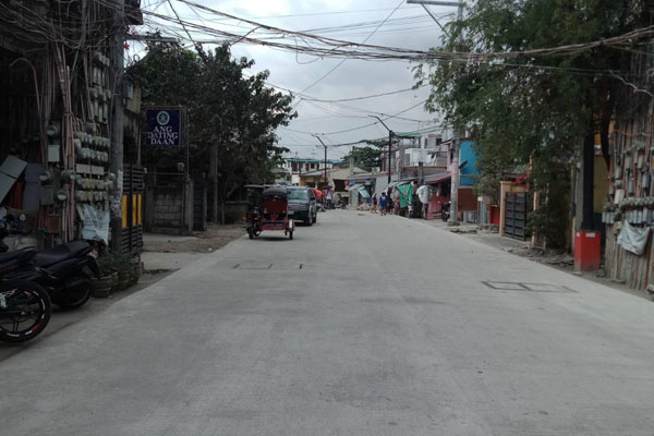 Access road C-6 / DPWH