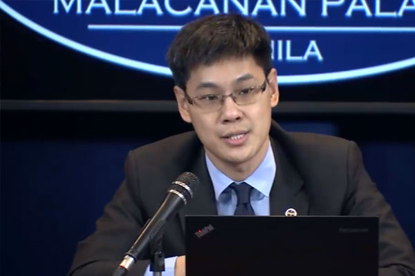 Socioeconomic Planning Secretary Karl Chua