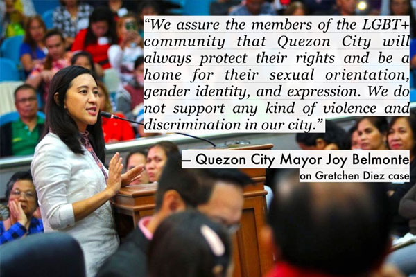 Quezon City Mayor Joy Belmonte / Facebook Mayor Joy Belmonte