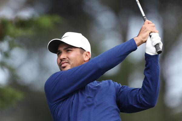Filipino-Australian Jason Day shoots his way to a share of the lead. JAMIE SQUIRE/Agence France-Presse