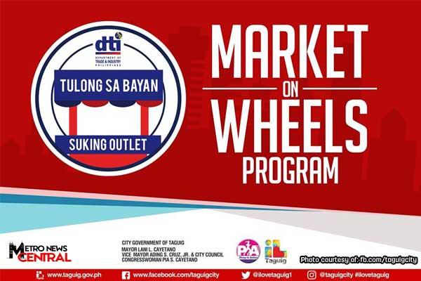 %u2018Market on Wheels%u2019 set in Brgy Ligid Tipas