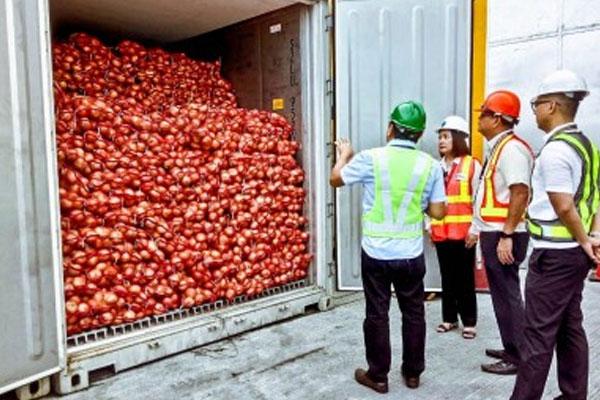 P-50 Million worth of smuggled vegetable seized in Manila Port / PNA