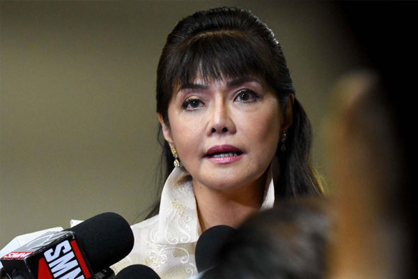 Senator Imee Marcos / Photo Courtesy of Angie de Silva/Rappler