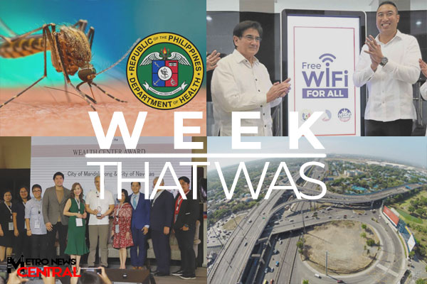 The Week That Was - September 16 - September 22, 2019 Banner