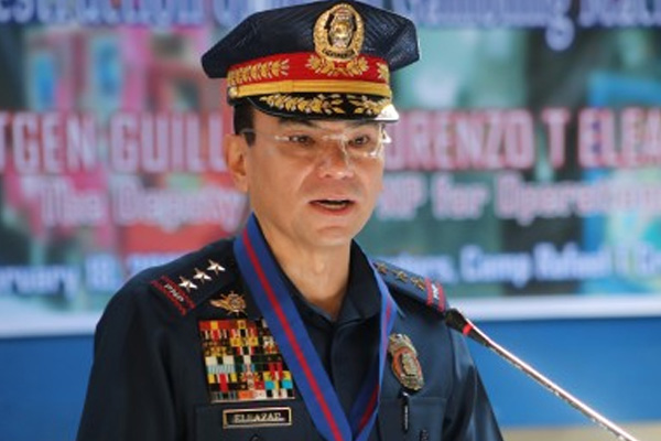Philippine National Police (PNP) Chief, Gen. Guillermo Eleazar