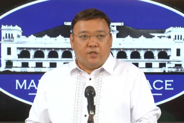 Palace spokesman Harry Roque