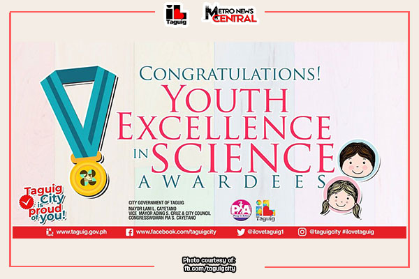 Taguig students recognized for excellence in science, math, robotics