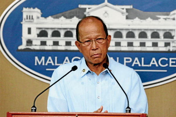 National Defense Secretary Delfin Lorenzana / PCOO