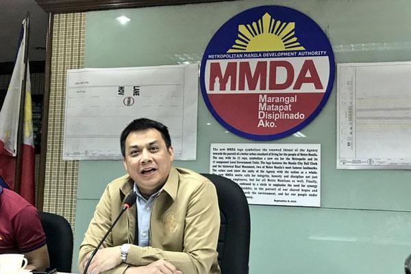 Metropolitan Manila Development Authority General Manager Jojo Garcia