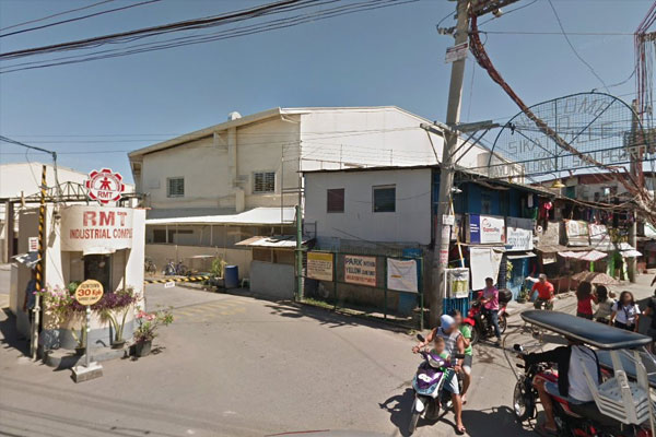 The RMT Industrial Complex in Bgy. Tunasan in Muntinlupa / Google Maps