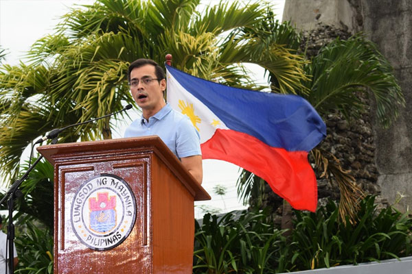 Manila Mayor Francisco %u2018Isko Moreno%u2019 Domagoso