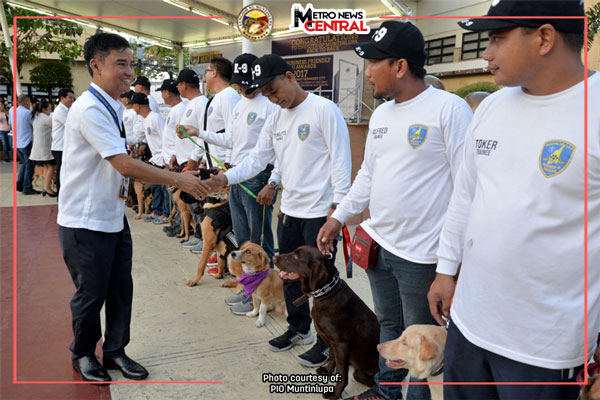 Muntinlupa launches K-9 search, rescue unit