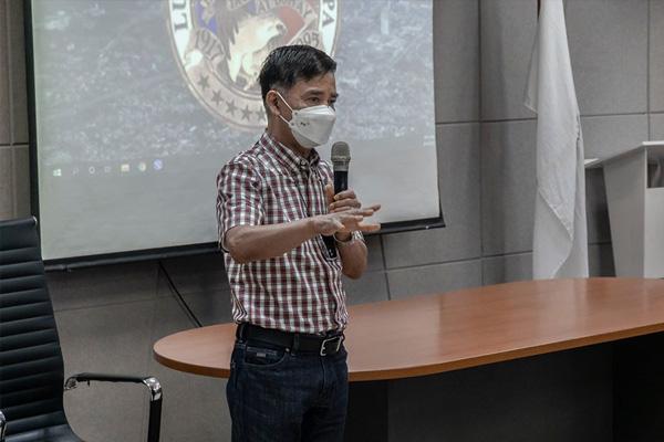 Muntinlupa City Mayor Jaime Fresnedi